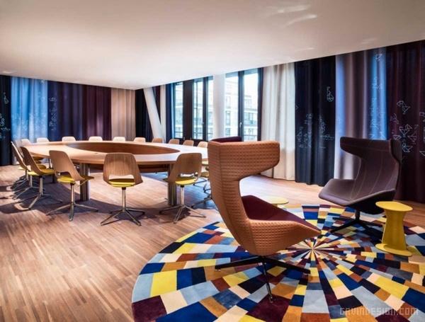 瑞士士苏黎世 25hours 酒店设计 酒店设计