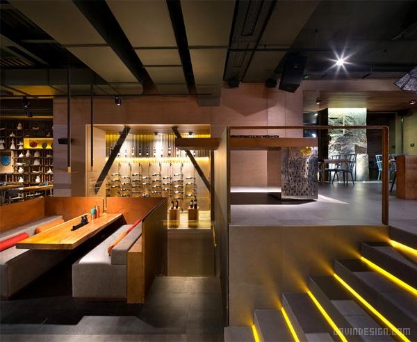 乌克兰基辅 EAST Porto 主题餐厅设计 餐厅设计 店面设计 商业空间设计