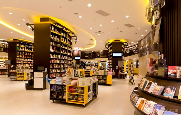 巴西里约热内卢 Saraiva 书店设计 巴西 商业空间设计 书店设计