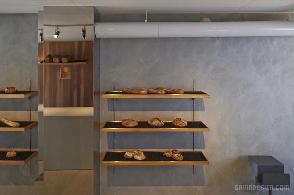 日本福冈 Panscape 面包店设计 面包店设计 店面设计 商业空间设计