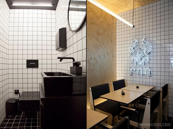 土耳其 Café Pan 餐厅设计 餐厅设计 店面设计 希腊 土耳其 商业空间设计 咖啡厅设计