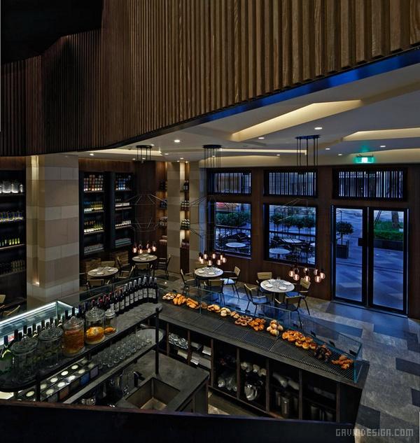 深圳星美乐旗舰店餐厅设计 餐厅设计 深圳 店面设计 商业空间设计 中国