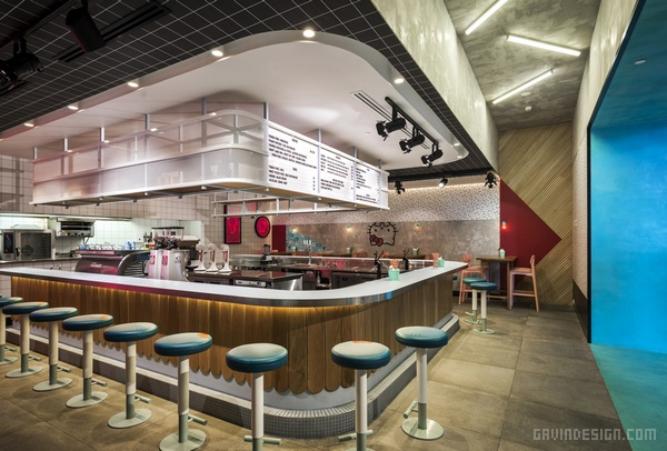 澳大利亚悉尼 Hello Kitty 餐厅设计 餐厅设计 澳大利亚 店面设计 商业空间设计