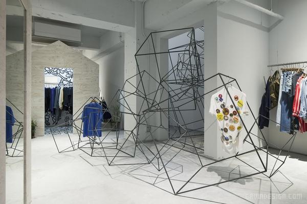 日本东京原宿 Shonen Junk 服装店设计 日本 旗舰店设计 店面设计 商业空间设计 专卖店设计