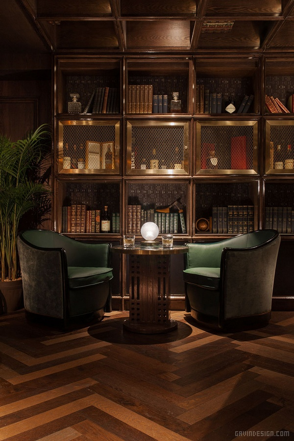 香港 Foxglove 酒吧设计 香港 酒吧设计 英国 店面设计 商业空间设计