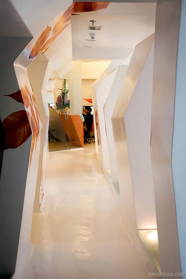 菲律宾 Smiles By Dr. Cecile 牙科诊所设计 诊所设计 牙所设计 店面设计 商业空间设计