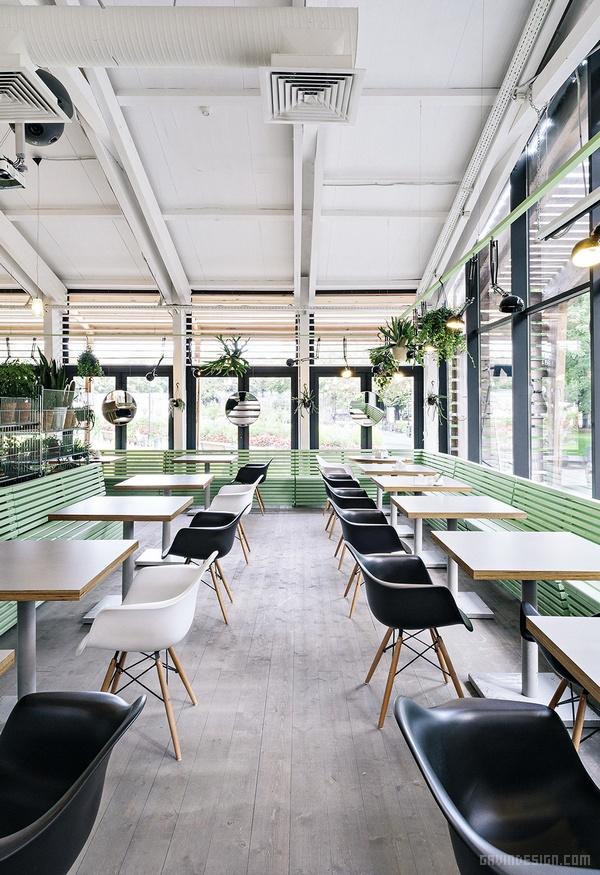 俄罗斯莫斯科 Bulka 咖啡厅设计 餐厅设计 店面设计 商业空间设计 咖啡厅设计 俄罗斯