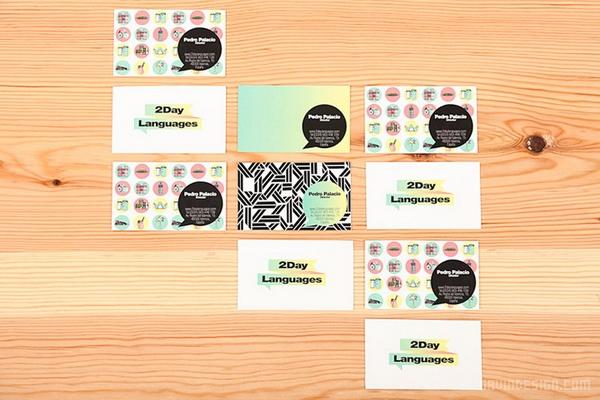 西班牙 2Day Language 学校企业形象VI设计及室内设计 西班牙 品牌形象设计 企业形象设计 VI设计