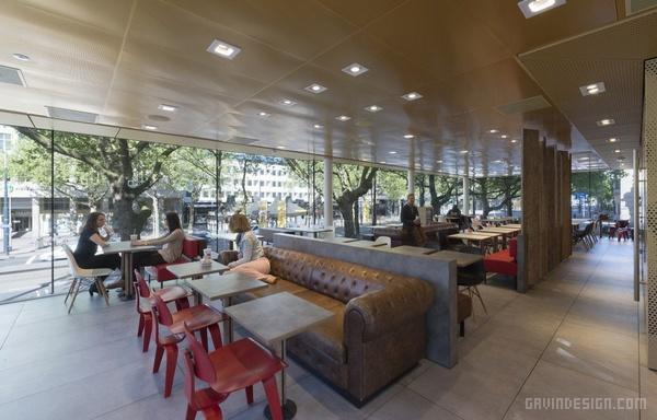 荷兰鹿特丹麦当劳餐厅设计 麦当劳 餐厅设计 荷兰 汉堡店设计 快餐店设计
