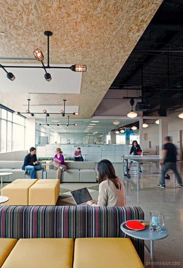 加利福尼亚 AOL 办公室设计 美国 办公空间设计 办公室设计