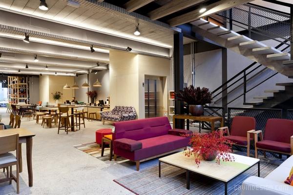 巴西圣保罗 Fernando Jaeger 家具店设计 店面设计 巴西 家具店设计 商业空间设计 专卖店设计