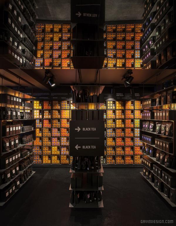 英国伦敦 T2 茶室设计 茶室设计 英国 概念店设计 包装设计