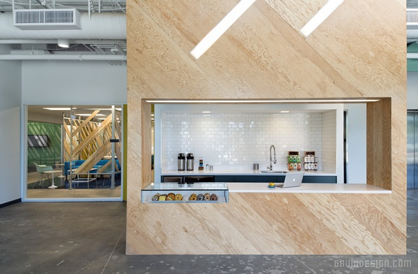 Evernote(印象笔记)加州办公室设计 美国 办公空间设计 办公室设计