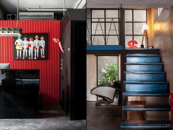 台湾 Split Level 美发沙龙设计 美容店设计 美发沙龙设计 理发店设计 店面设计 商业空间设计 台湾 中国