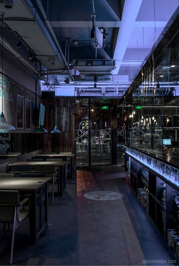台北闺蜜吮指龙虾餐厅设计 餐厅设计 店面设计 商业空间设计 台湾 中国