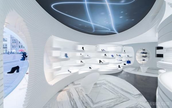 荷兰阿姆斯特丹 Shoebaloo 旗舰店设计 餐厅设计 鞋店设计 荷兰 旗舰店设计 店面设计 专卖店设计