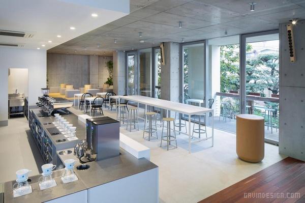 东京青山 Blue Bottle 咖啡馆设计 餐厅设计 店面设计 商业空间设计 咖啡馆设计