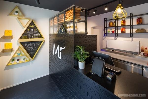 新西兰 Mì 越南美食餐厅设计 餐厅设计 店面设计 商业空间设计