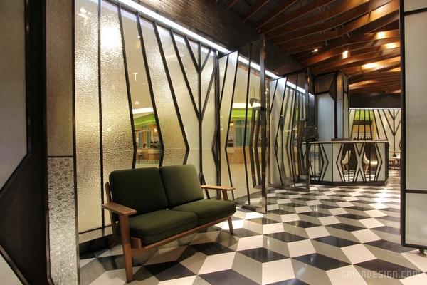 云南佐敦道港式茶餐厅设计 餐厅设计 店面设计 商业空间设计 中国