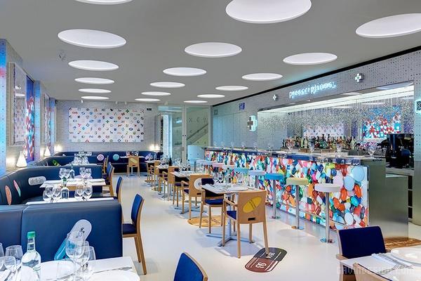 伦敦 Pharmacy 2餐厅设计 餐厅设计 英国 店面设计 商业空间设计