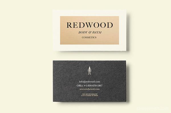 Redwood 男士护肤品牌视觉形象SI设计 美国 画册设计 海报设计 标志设计 名片设计 VI设计 SI设计 APP设计