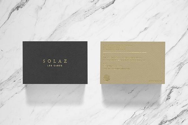 墨西哥洛斯卡沃斯 Solaz 酒店VI设计 墨西哥 名片设计 包装设计 VI设计 APP设计