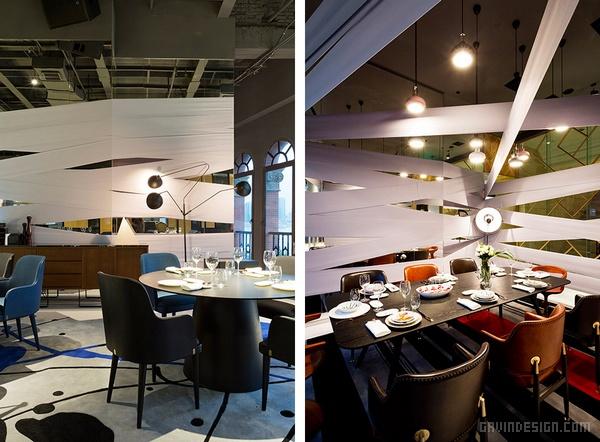 上海外滩22号 Lady Bund 餐厅设计 餐厅设计 店面设计 商业空间设计 上海