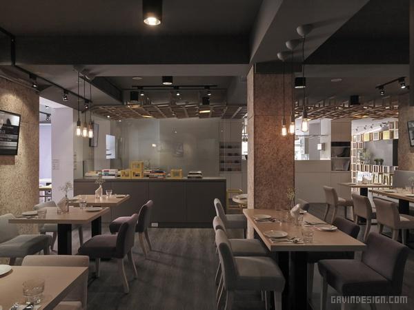 台北 Les Bébés 咖啡厅设计 餐厅设计 店面设计 商业空间设计 咖啡厅设计 台湾 中国
