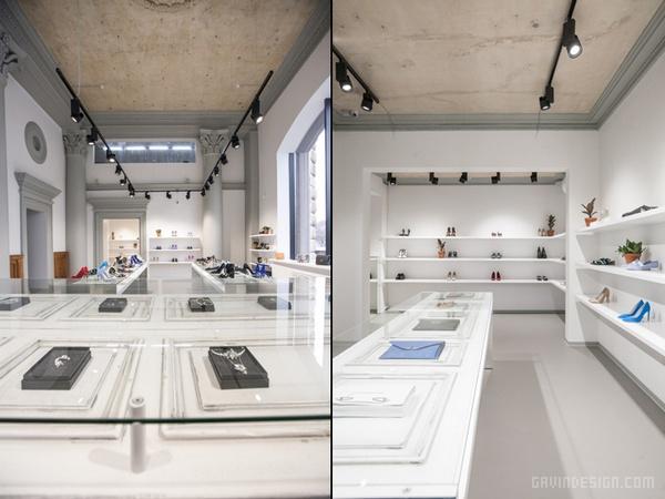 俄罗斯莫斯科 Porta 9 鞋店设计 鞋店设计 店面设计 商业空间设计 俄罗斯 专卖店设计