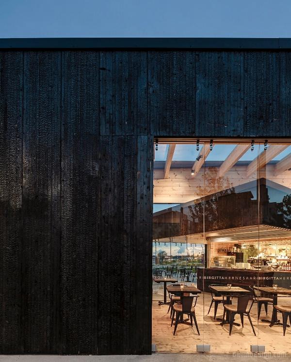 芬兰赫尔辛基 Birgitta 咖啡馆设计 餐厅设计 店面设计 商业空间设计 咖啡馆设计