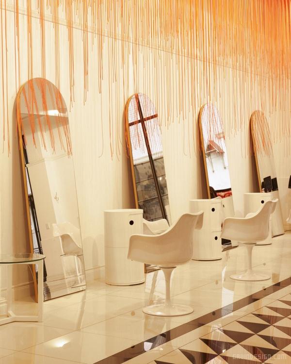 南非开普敦 Glam5 美容院设计 美容院设计 店面设计 商业空间设计