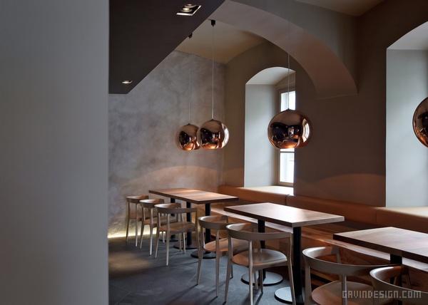 斯洛文尼亚 Cafeteria Rog 餐厅设计 餐厅设计 店面设计 商业空间设计