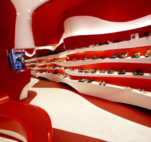 西班牙格拉纳达 Camper 鞋店设计 鞋店设计 西班牙 店面设计 商业空间设计 专卖店设计