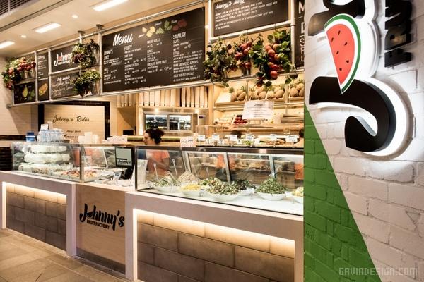 澳大利亚悉尼 Johnny's 果品店设计 超市设计 澳大利亚 店面设计 商业空间设计 专卖店设计