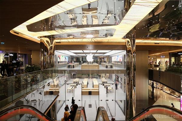 土耳其伊斯坦布尔苹果专卖店设计 店面设计 商业空间设计 专卖店设计