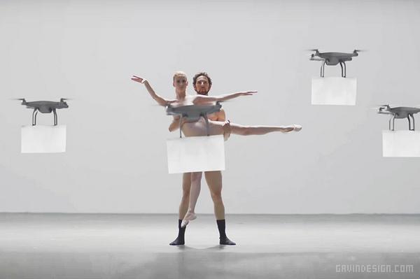 日本 BUYMA.com 友好的无人机广告设计 日本 创意广告