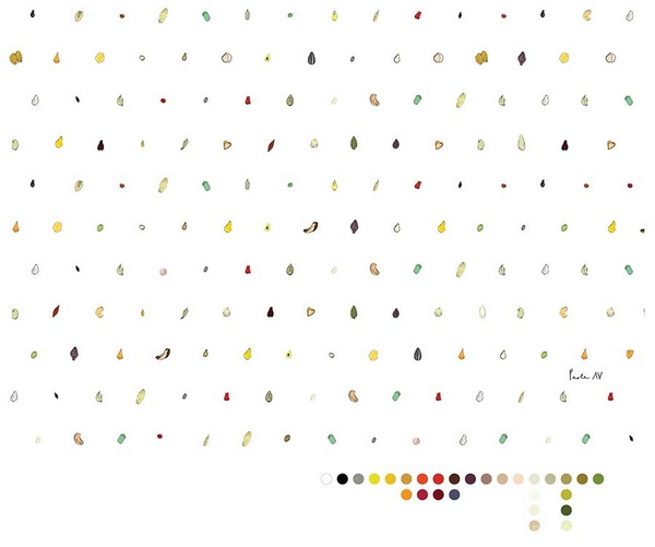 意大利 Mantra 素食餐厅品牌VI设计 海报设计 标识设计 意大利 名片设计 冷饮店设计 便利店设计 VI设计 SI设计