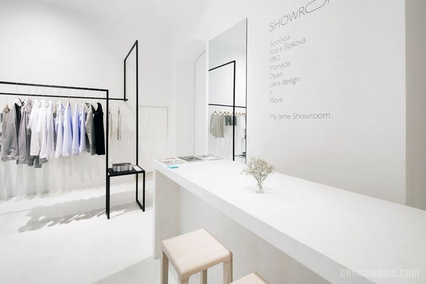 捷克布拉格 Showroom 时装展厅设计 店面设计 展厅设计 商业空间设计 专卖店设计