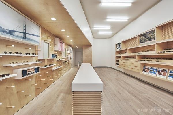 旧金山 GLCO 眼镜店设计 美国 眼镜店设计 店面设计 商业空间设计 专卖店设计