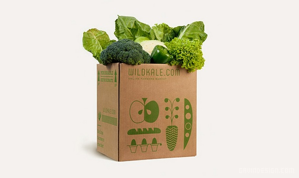 Wildkale 线上农贸企业VI设计 网站设计 标志设计 包装设计 VI设计 APP设计