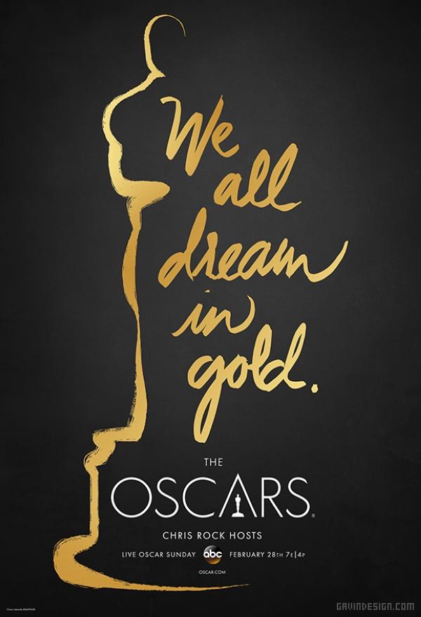 第88届奥斯卡宣传海报设计 海报设计