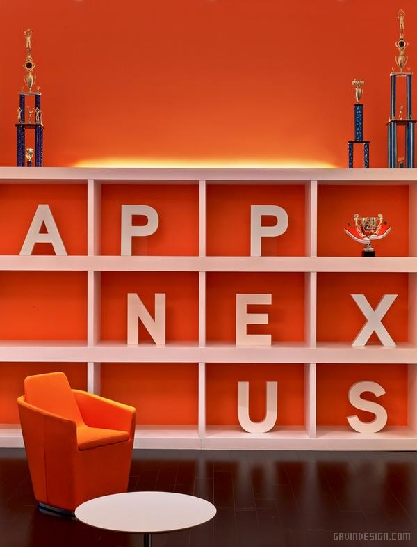 美国纽约 Appnexus 办公室设计 美国 办公空间设计 办公室设计