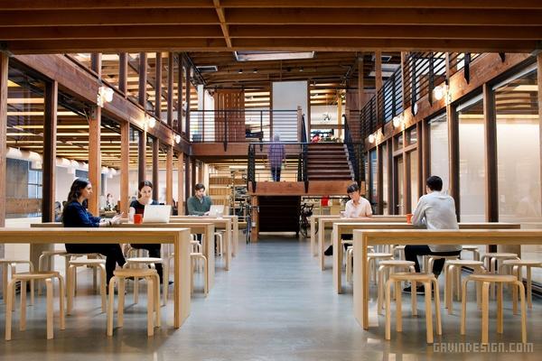 旧金山 Postmates 快递公司办公室设计 办公空间设计 办公室设计