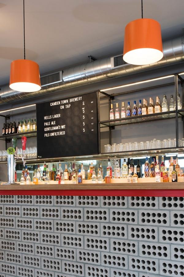 英国伦敦 Bird 餐厅设计 餐厅设计 英国 店面设计 商业空间设计