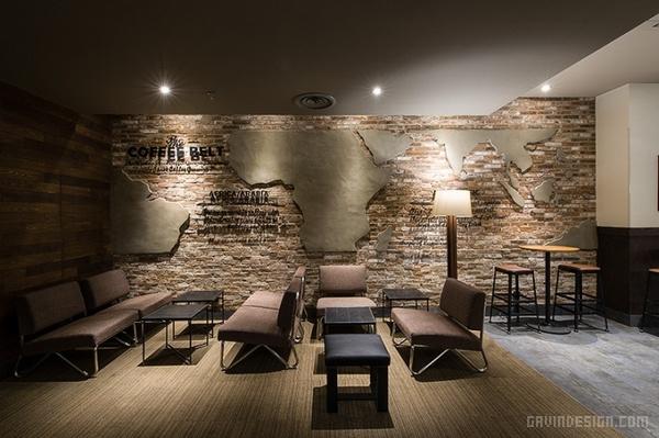 沈阳中兴星巴克(Starbucks)咖啡厅设计 餐厅设计 店面设计 商业空间设计 咖啡厅设计 中国