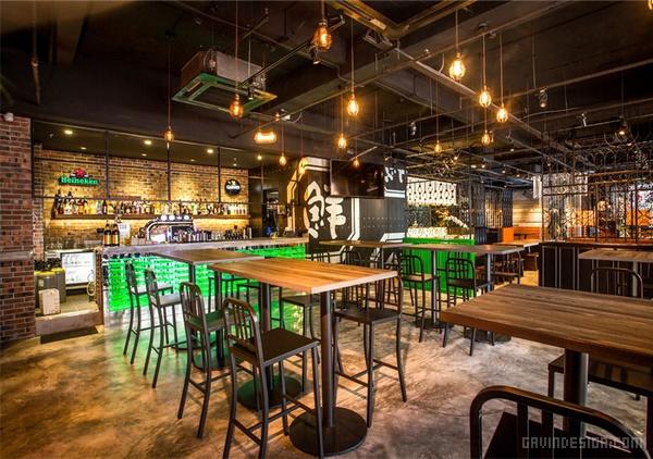 新加坡 Senya 餐厅设计 餐厅设计 店面设计 商业空间设计