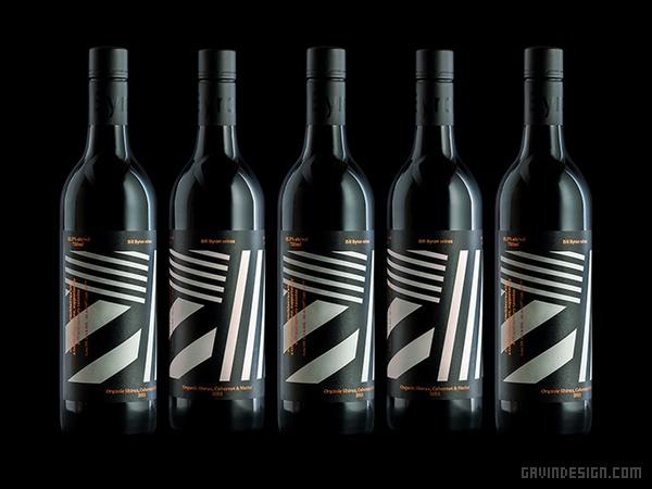 澳大利亚 Bill Byron 葡萄酒VI设计 标志设计 包装设计 VI设计