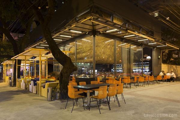 巴西 Olga Nur 餐厅设计 餐厅设计 店面设计 巴西 商业空间设计