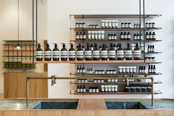 澳大利亚 Adelaide Aesop 专卖店设计 澳大利亚 店面设计 商业空间设计 专卖店设计