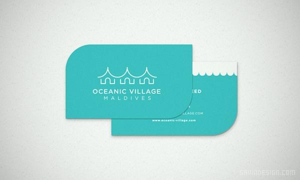 Oceanic Village 度假村视觉形象设计 画册设计 海报设计 度假村设计 导示设计 VI设计